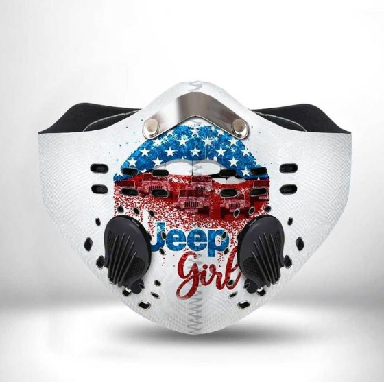 JEEP GIRLCLOTH FACE MASK WASHABLE PRINTED 3D - NT2706GV46