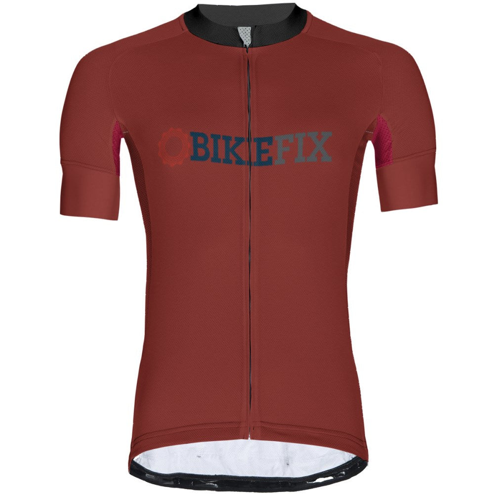 BIKEFIX Venture Red - Men Jersey Pro 3