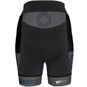 BIKEFIX Venture Gray - Women Cycling Shorts