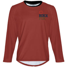 Load image into Gallery viewer, BIKEFIX Venture Red 2 - MTB Long Sleeve Jersey