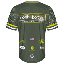 Load image into Gallery viewer, North of the Border Green - MTB Short Sleeve Jersey