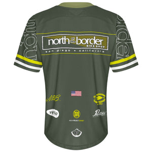 North of the Border Green - MTB Short Sleeve Jersey
