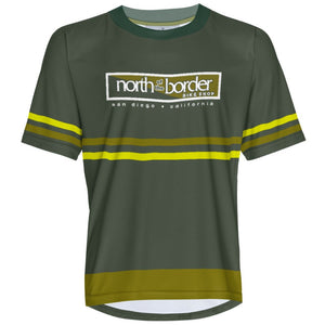 North of the border - Green 2 - MTB Short Sleeve Jersey