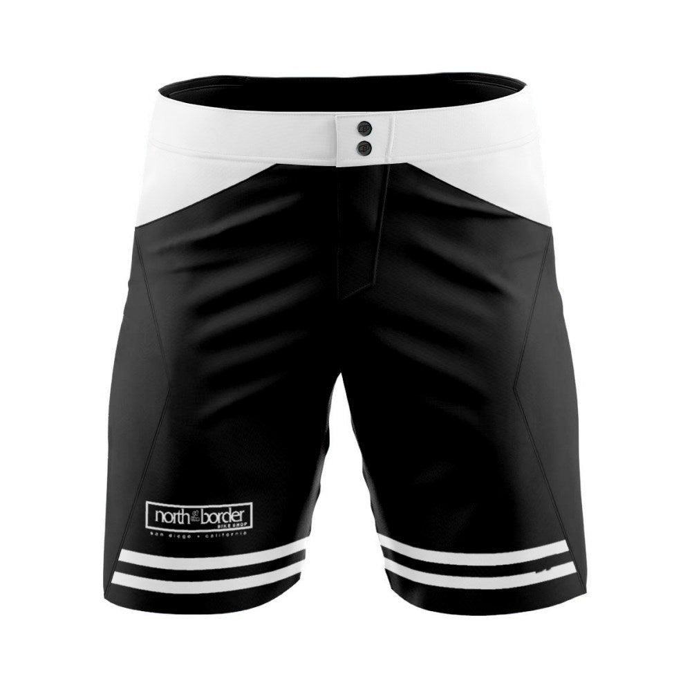 North of the Border Black - MTB baggy shorts
