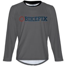 Load image into Gallery viewer, BIKEFIX Venture Gray - MTB Long Sleeve Jersey