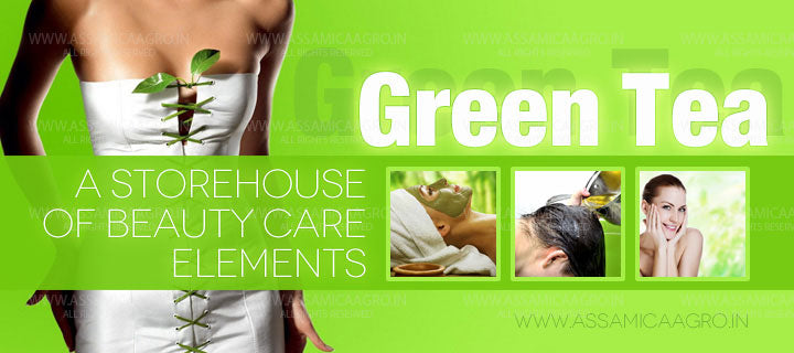 Beauty Care With Green Tea