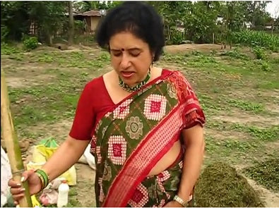 Anjali Pathak - Preparing Liquid Manure