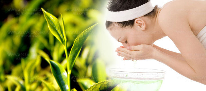 Green Tea As Face Wash