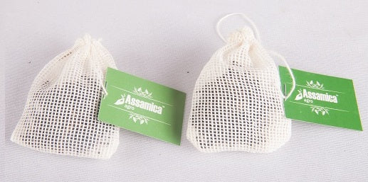 Full Leaf Green Tea in Cotton Tea Bags