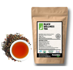 Load image into Gallery viewer, Black Wellness Tea