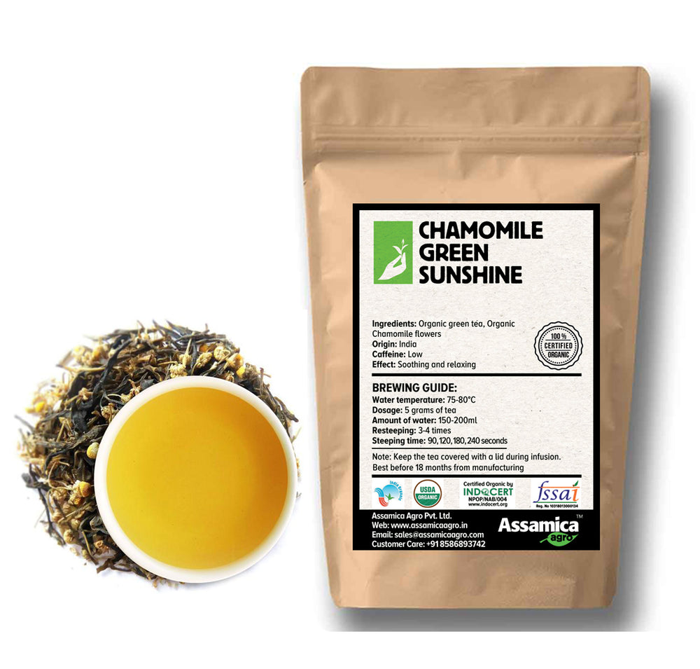 Chamomile Green Sunshine