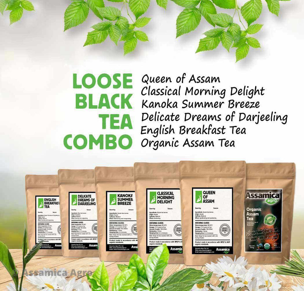 Loose Leaf Black Teas - Combo Pack