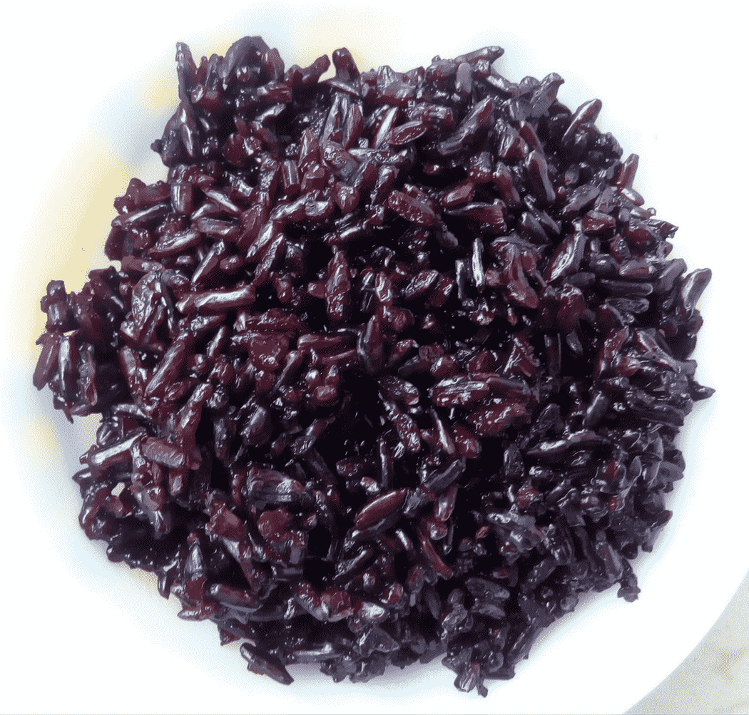 Buy Black Rice In India Online Traditional From Northeast Pure Green Organic Long Grain 1 Kg Cooked