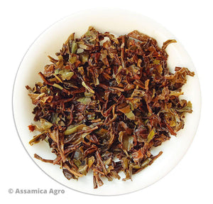 Darjeeling Black Tea: Delicate Dreams of Darjeeling - Wet Leaves