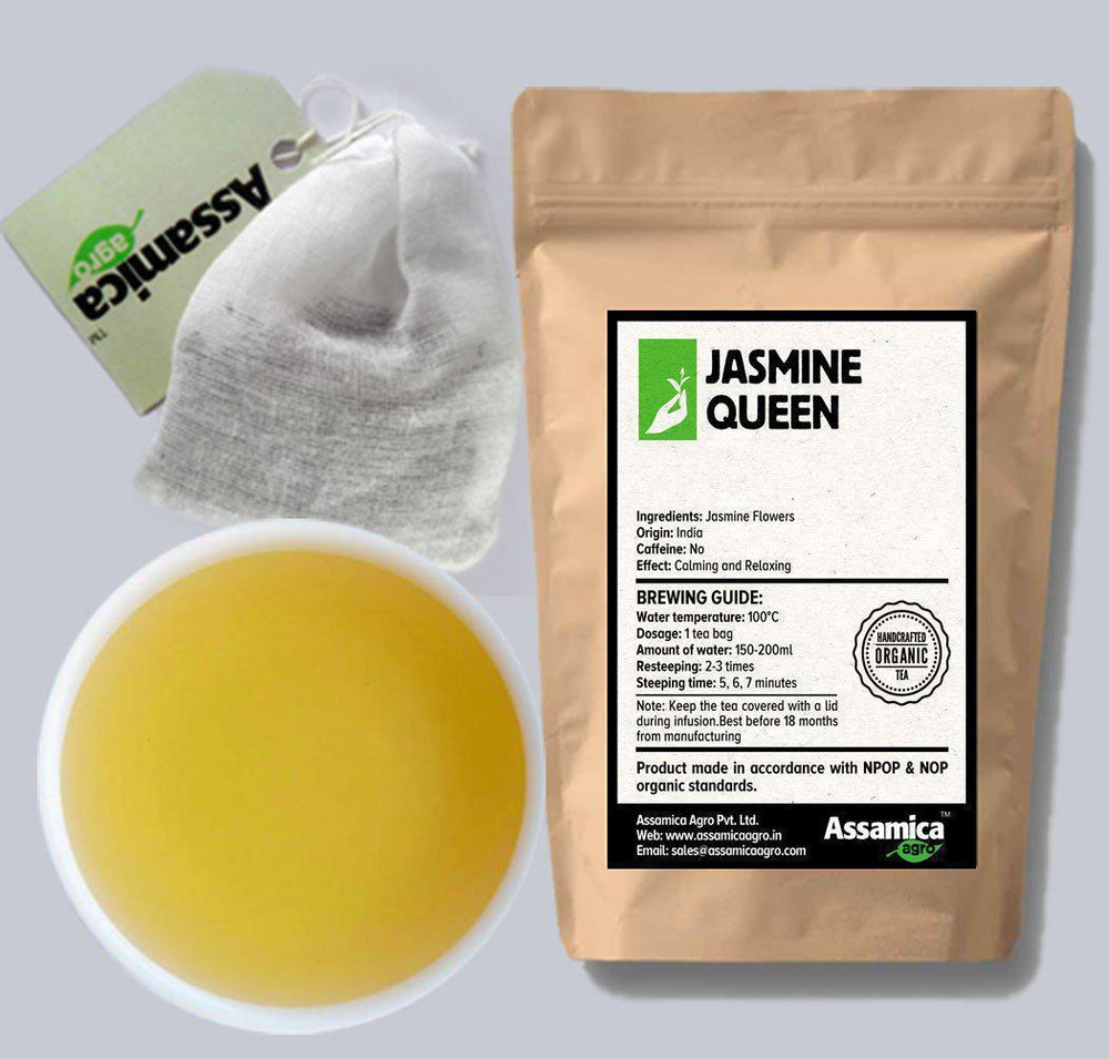 Jasmine Queen: Indian Jasmine Teabags