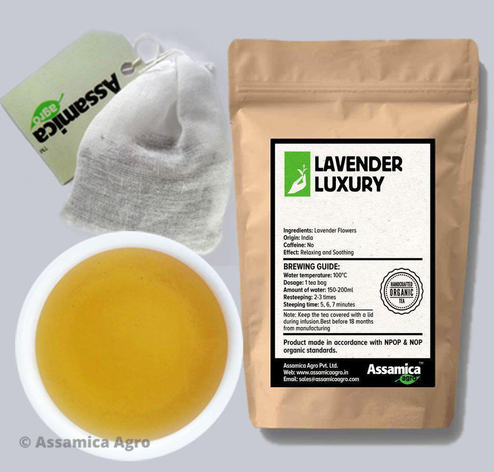Lavender Luxury: Indian Lavender Teabags