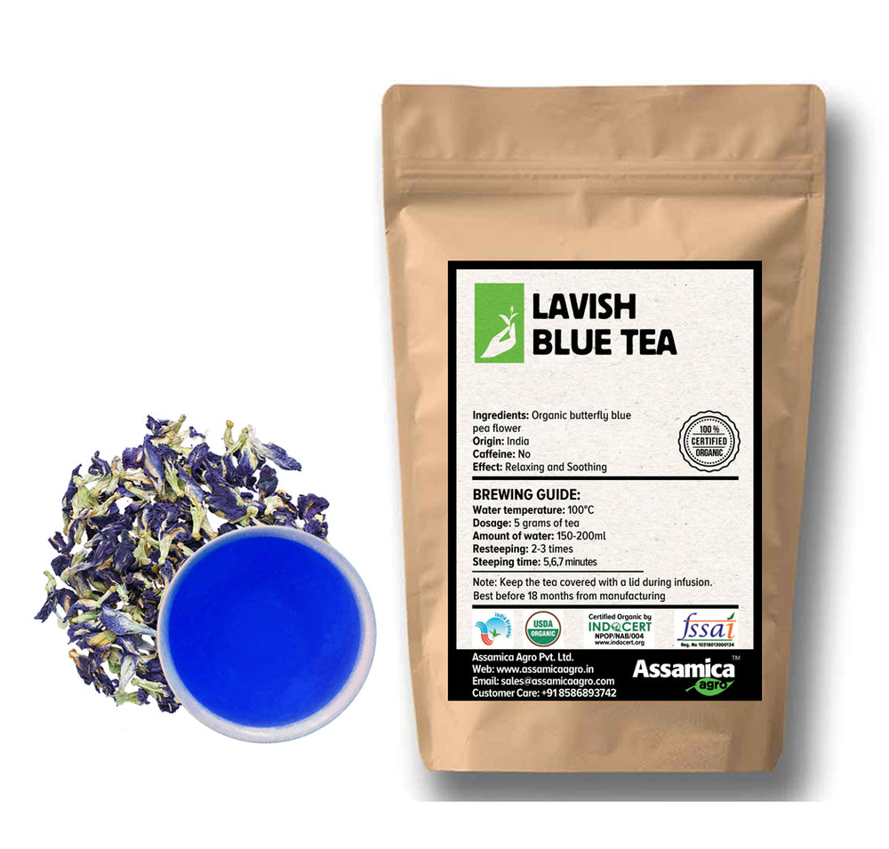 Lavish  Blue Tea