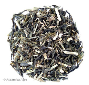 Load image into Gallery viewer, Organic Lemongrass Green tea with Ginger | Assamica Agro - Dry Leaves