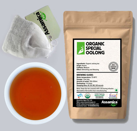 Organic Special Oolong- 10 Tea Bags