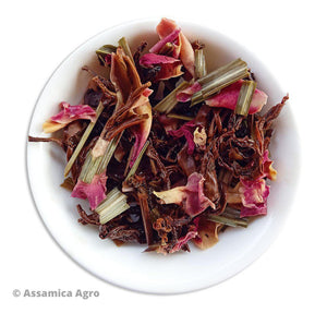 Load image into Gallery viewer, Organic Assam Black Wellness Tea - Wet Leaves