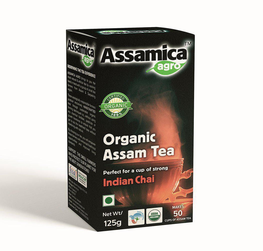 Organic Assam Chai Tea - 125g Box