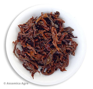 Organic Assam Tea: Classical Morning Delight - Wet Leaves