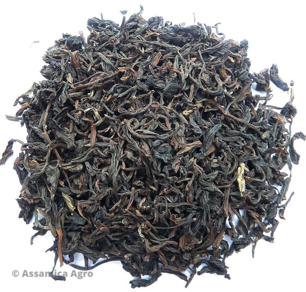 Organic Assam Tea: Kanoka - Wet Leaves