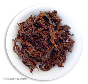 Organic Assam Tea: Queen of Assam - Wet Leaves