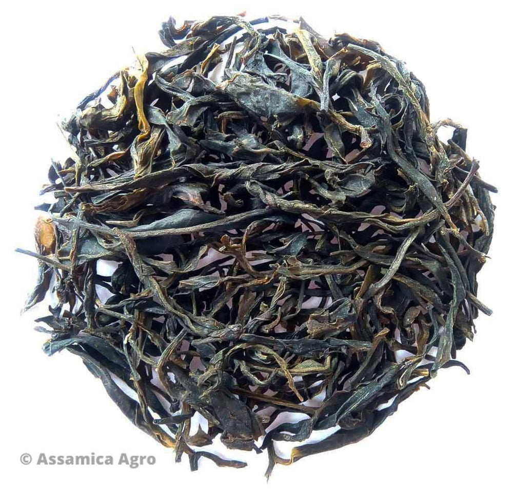 Organic Green Tea: Assam Green Adventure - Dry Leaves