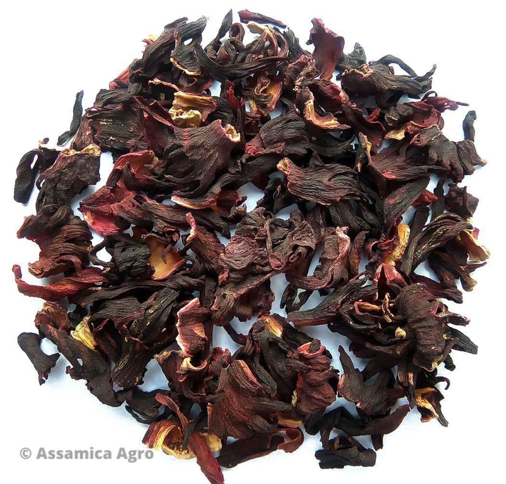 Load image into Gallery viewer, Organic Hibiscus Tea: Zesty Hibiscus - Dry Leaves