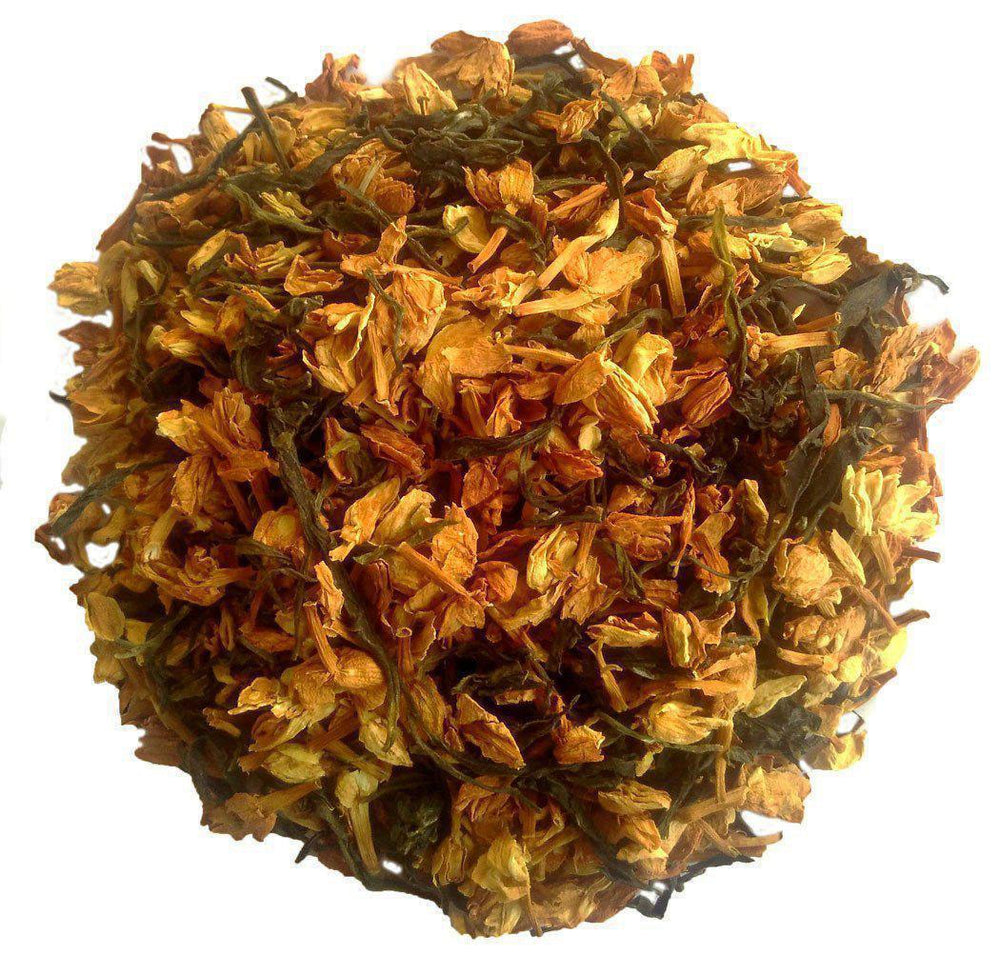 Load image into Gallery viewer, Organic Jasmine Green Tea: Royal Jasmine - Dry Leaves