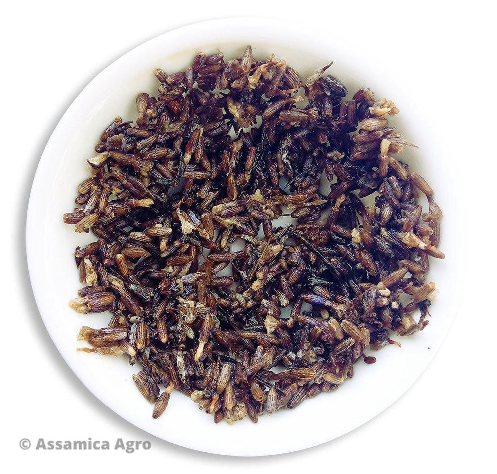 Load image into Gallery viewer, Organic Lavender Tea: Lavender Luxury - Wet Leaves