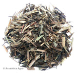 Organic Lemongrass Green Tea: Green Lemongrass Flare - Wet Leaves