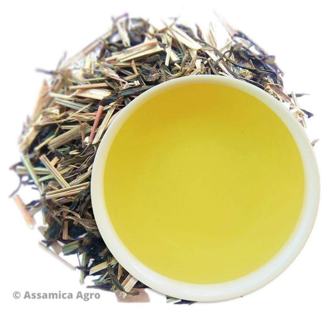 Green Lemongrass Flare: Organic Green Tea with Lemongrass