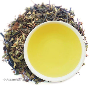 Organic Mint Green Tea: Mint Green Exposure