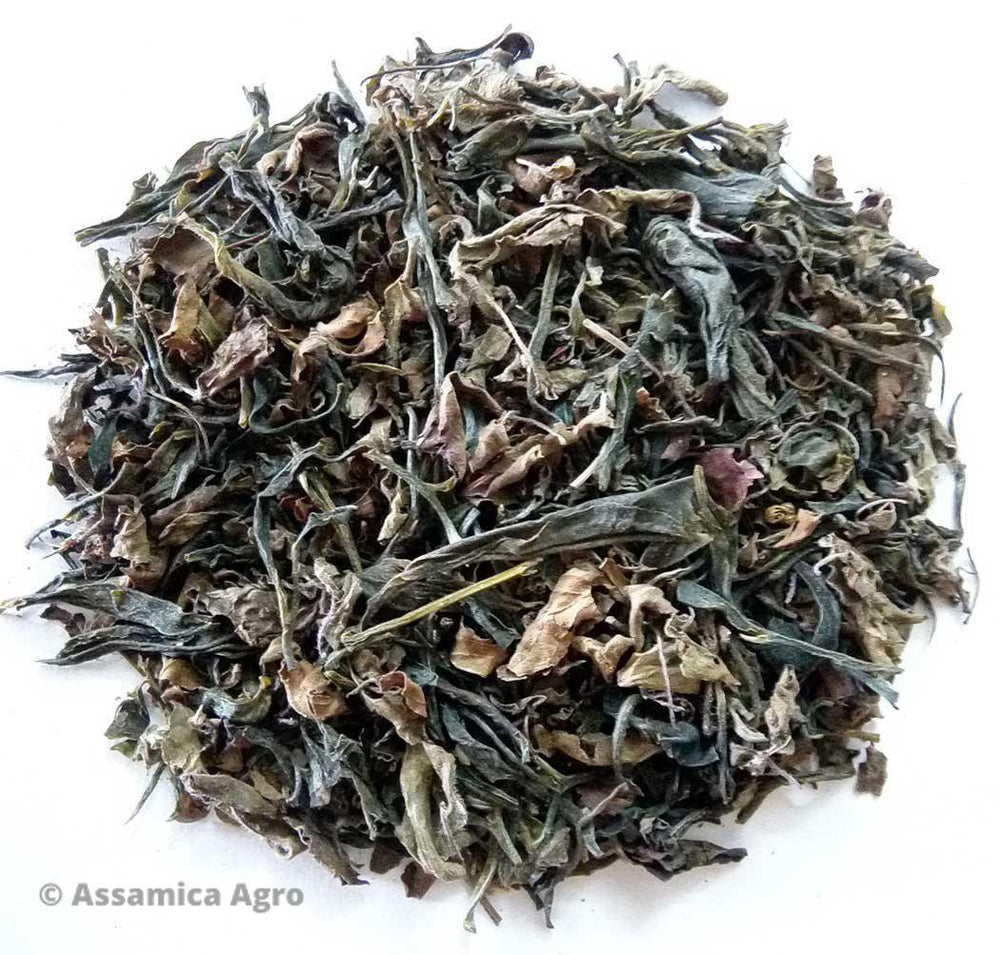 Load image into Gallery viewer, Organic Tulsi Green Tea: Tulsi Green Sensation - Dry Leaves