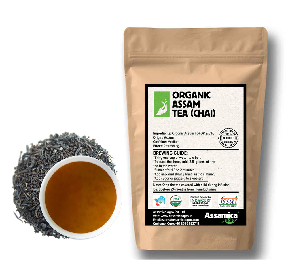 Load image into Gallery viewer, Organic Assam Tea (Chai)
