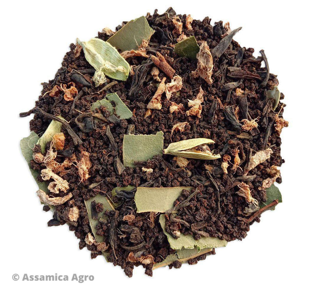 Organic Assam Masala Chai - Wet Leaves