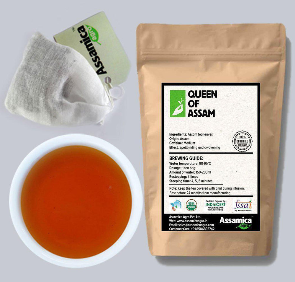 Queen of Assam :: Organic Assam Tea Bags