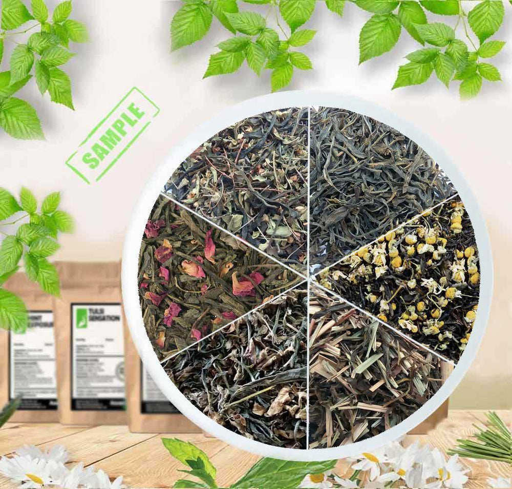 Loose Organic Green Tea Leaves - Sample Combo