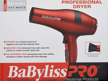 Load image into Gallery viewer, BaBylissPRO Professional Ceramic Hairdryer