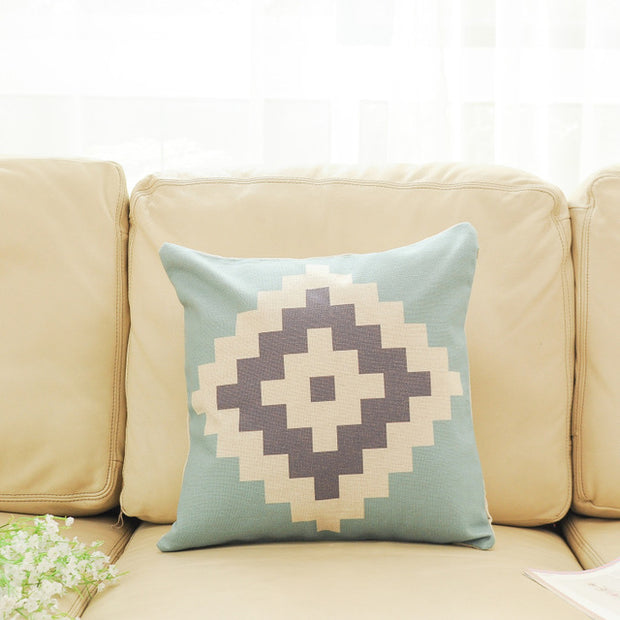 Geometric Shapes Cushion Covers