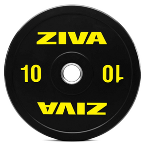 ZIVA 10lb and 25lb Olympic Plates for Barbell - Plates Sold Individually