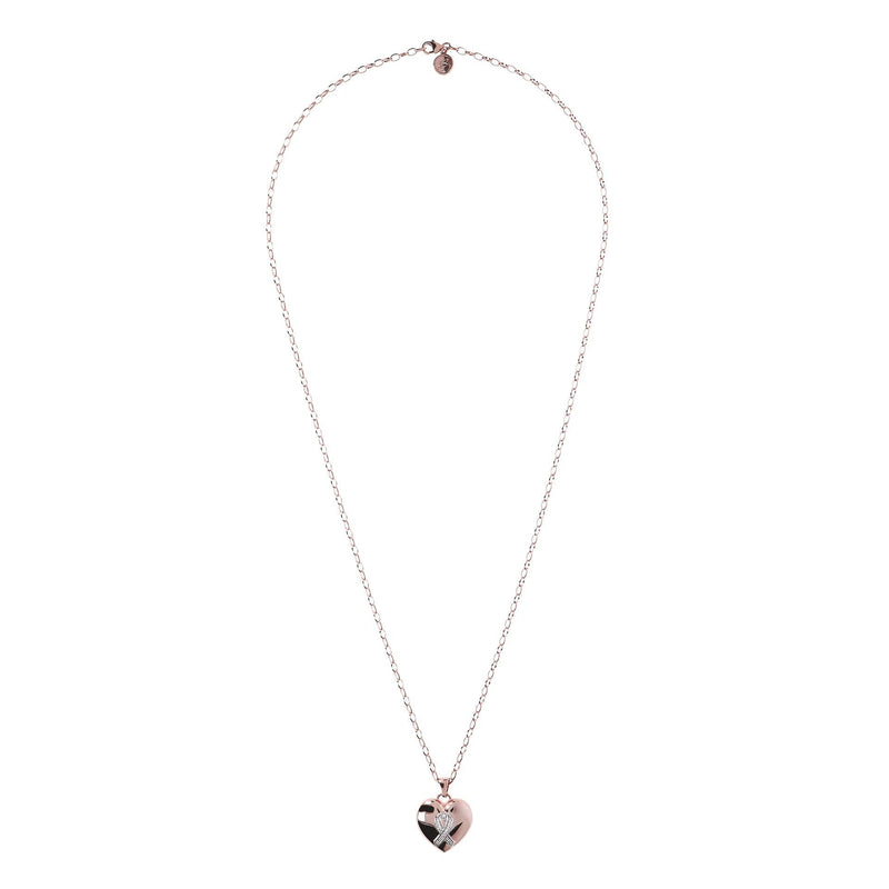 Pink is Good collana con Cuore Maxi