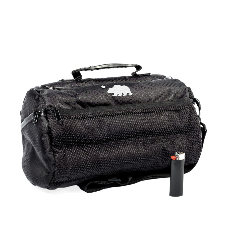 Small duffle with lighter