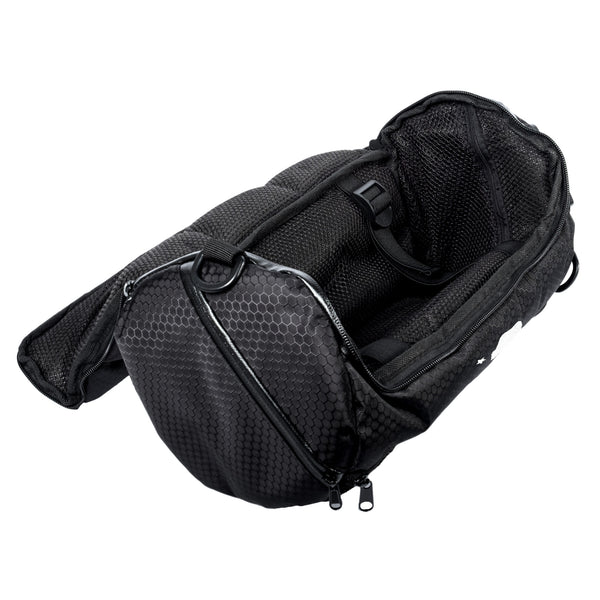 Small duffle open