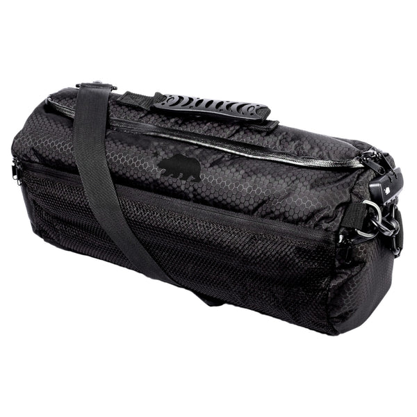 Large duffle black logo