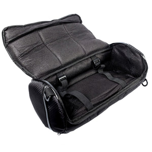 Large duffle open