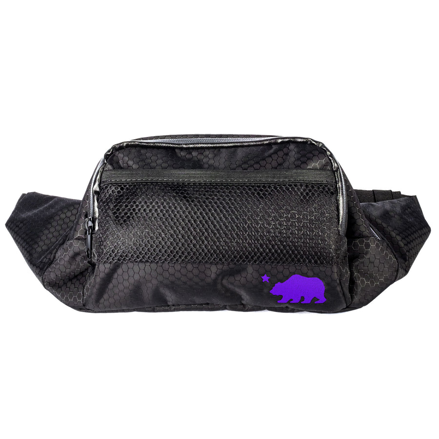 Fanny pack purple logo