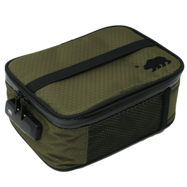 Large green soft case